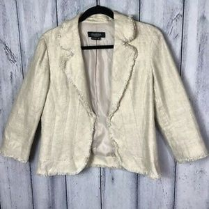 Peck and Peck linen jacket